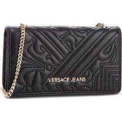 Torebka VERSACE JEANS - E3VSBPZ3 70792 899. Czarne torebki do ręki damskie Versace Jeans, z jeansu. Za 369.00 zł.