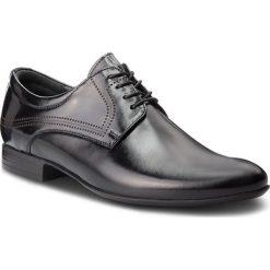Półbuty LASOCKI FOR MEN - TA-LL43 Black. Czarne eleganckie półbuty Lasocki For Men, z materiału. Za 219.99 zł.