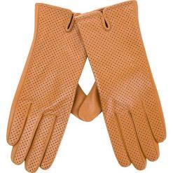 Rękawiczki Damskie WITTCHEN - 45-6-520-LB Brązowy. Brązowe rękawiczki damskie Wittchen, ze skóry. W wyprzedaży za 159.00 zł.