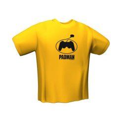 GamersWear Koszulka  PADMAN T-Shirt Yellow (S) (5097-S). Żółte t-shirty i topy dla dziewczynek GamersWear. Za 56.93 zł.