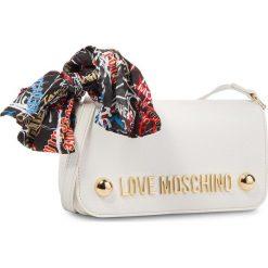 Torebka LOVE MOSCHINO - JC4126PP16LV0100  Bianco. Białe listonoszki damskie Love Moschino, ze skóry ekologicznej. Za 659.00 zł.