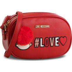 Torebka LOVE MOSCHINO - JC4069PP16LK0500  Rosso. Czerwone listonoszki damskie Love Moschino, ze skóry ekologicznej. W wyprzedaży za 449.00 zł.
