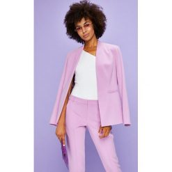 Answear - Żakiet Violet Kiss. Różowe żakiety damskie ANSWEAR, z elastanu, eleganckie. W wyprzedaży za 149.90 zł.