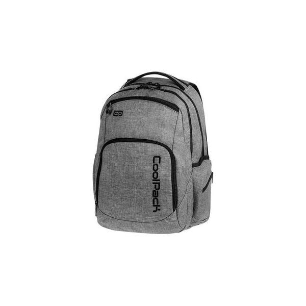 210d16389b9ca Plecak Młodzieżowy Coolpack Break Snow Szary - Torby i plecaki ...