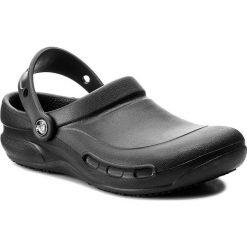Klapki CROCS - Bistro 10075 Black. Czarne klapki damskie Crocs, z tworzywa sztucznego. W wyprzedaży za 169.00 zł.