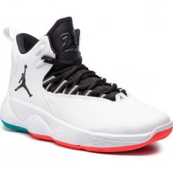 Buty NIKE - Jordan Super.Fly Mvp AR0037 103  White/Black Turbo Green. Białe buty sportowe męskie Nike, z materiału. Za 589.00 zł.