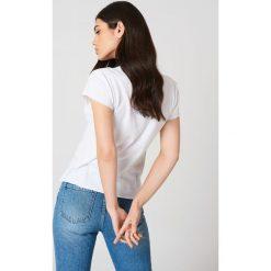 Rut&Circle T-shirt Lemon - White. Białe t-shirty damskie Rut&Circle, z nadrukiem, z bawełny. Za 80.95 zł.
