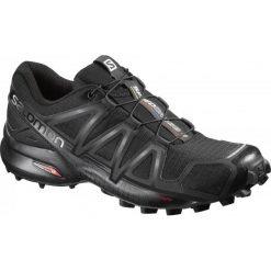 Salomon Buty Do Biegania Speedcross 4 W Black/Black/Black Meta 41.3. Czarne obuwie sportowe damskie Salomon. Za 449.00 zł.