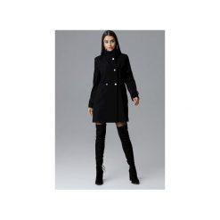 Płaszcz M623 Czarny. Czarne płaszcze damskie Figl, eleganckie. Za 299.00 zł.