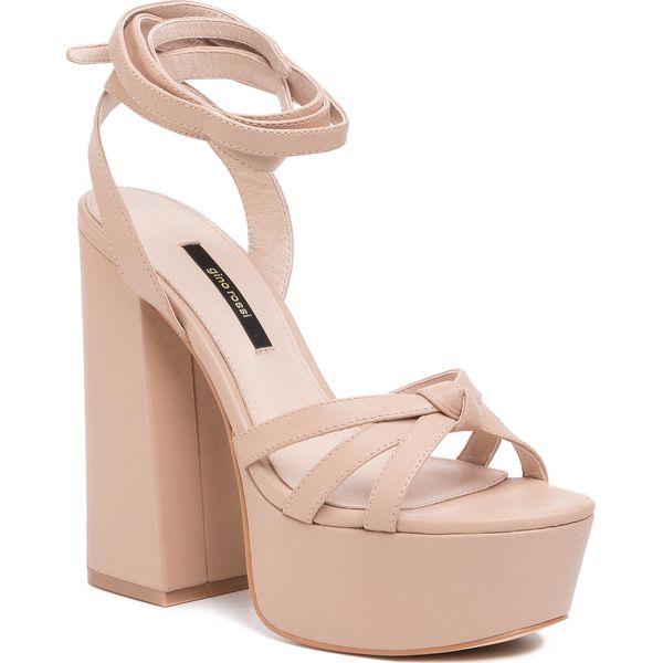 Sandały GINO ROSSI 119AL3309 Beige