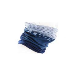 KOMIN NA SZYJĘ 500 ZIMOWY. Fioletowe szaliki męskie B'TWIN, na zimę, z materiału. W wyprzedaży za 14.99 zł.