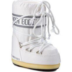 Śniegowce MOON BOOT - Nylon 14004400006  Bianco M. Śniegowce dziewczęce Moon Boot, z materiału. W wyprzedaży za 249.00 zł.