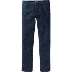 Dżinsy chino bonprix ciemnoniebieski. Jeansy męskie marki bonprix. Za 89.99 zł.