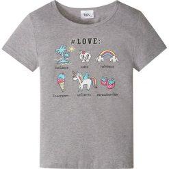 T-shirt bonprix jasnoszary melanż. T-shirty damskie marki bonprix. Za 24.99 zł.
