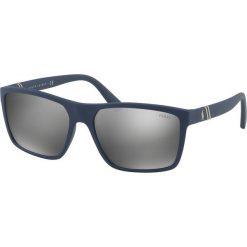 Polo Ralph Lauren - Okulary 0PH4133. Brązowe okulary przeciwsłoneczne męskie Polo Ralph Lauren, z materiału. Za 499.90 zł.