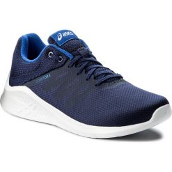 Buty ASICS - Comutora T831N Indigo Blue/Indigo Blue/Imperial 4949. Niebieskie buty sportowe męskie Asics, z materiału. W wyprzedaży za 199.00 zł.