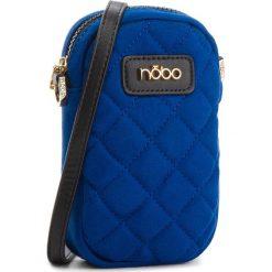 Torebka NOBO - NBAG-E3710-C012 Niebieski. Niebieskie listonoszki damskie Nobo, z materiału. W wyprzedaży za 99.00 zł.