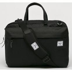 Herschel - Torba Sandford. Czarne torby na laptopa męskie Herschel, w paski, z materiału. Za 469.90 zł.