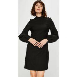 Trendyol - Sukienka. Szare sukienki damskie Trendyol, z elastanu, casualowe, z długim rękawem. Za 119.90 zł.