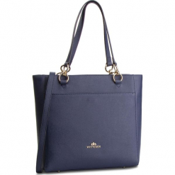 Torebka WITTCHEN - 87-4E-415-7 Granatowy. Niebieskie torebki do ręki damskie Wittchen, ze skóry. W wyprzedaży za 519.00 zł.