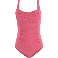 Kostium kąpielowy wyszczuplający bonprix jeżynowy. Fioletowe kostiumy jednoczęściowe damskie bonprix. Za 74.99 zł.