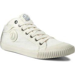 Trampki PEPE JEANS - Industry PMS30246 Off White 803. Białe trampki męskie Pepe Jeans, z gumy. W wyprzedaży za 169.00 zł.