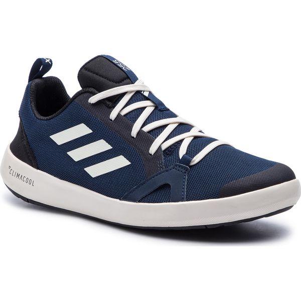 buty męskie adidas terrex cc boat niebieskie bc0507