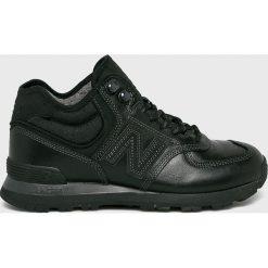 New Balance - Buty. Czarne buty sportowe męskie New Balance, z materiału. W wyprzedaży za 399.90 zł.