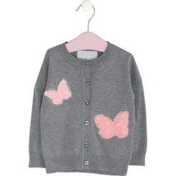 Szary Sweter To Float. Swetry dla dziewczynek marki bonprix. Za 59.99 zł.