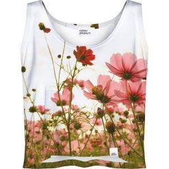 Colour Pleasure  \Koszulka damska CP-035 213 biało-zielona r. XS-S. T-shirty damskie Colour Pleasure. Za 64.14 zł.