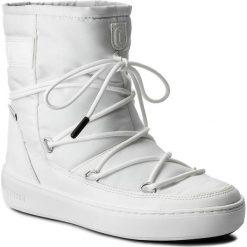Śniegowce MOON BOOT - Pulse Nylon Plus Wp 24102500007 Bianco. Białe śniegowce i trapery damskie Moon Boot, z materiału. W wyprzedaży za 479.00 zł.