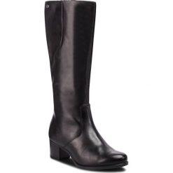 Kozaki CAPRICE - 9-25519-21 Black Nappa 022. Czarne kozaki damskie Caprice, z materiału. W wyprzedaży za 379.00 zł.