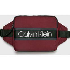 Calvin Klein - Nerka. Brązowe saszetki męskie Calvin Klein, z materiału, casualowe. Za 279.90 zł.