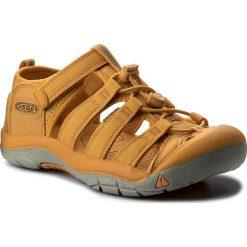 Sandały KEEN - Newport H2 1018267 Beeswax. Żółte sandały chłopięce Keen, z materiału. W wyprzedaży za 169.00 zł.