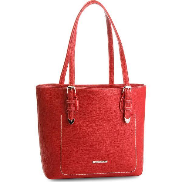 8f28f1b650ceb Torebka WITTCHEN - 86-4Y-420-3 Czerwony - Czerwone torebki do ręki ...