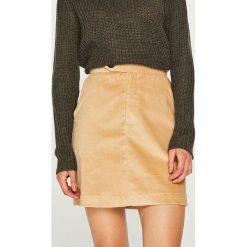 Trendyol - Spódnica. Różowe spódnice damskie Trendyol, z bawełny. Za 79.90 zł.
