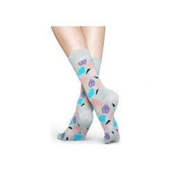 Skarpetki Happy Socks  DIA01-9001. Czerwone skarpety męskie Happy Socks, z bawełny. Za 24.43 zł.
