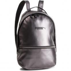 Plecak PUMA - Prime Classics 075407  Silver. Szare plecaki damskie Puma, ze skóry ekologicznej, eleganckie. W wyprzedaży za 169.00 zł.