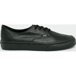 Vans - Buty Authentic Decon. Czarne obuwie sportowe damskie Vans, z materiału. W wyprzedaży za 299.90 zł.