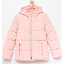 Ocieplana kurtka z kapturem - Różowy. Czerwone kurtki i płaszcze dla dziewczynek Reserved. Za 69.99 zł.