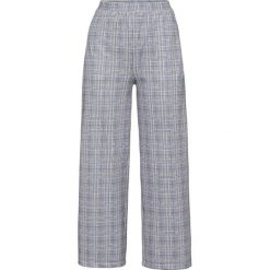 Spodnie w kratę bonprix szary w kratę. Spodnie materiałowe damskie marki DOMYOS. Za 59.99 zł.