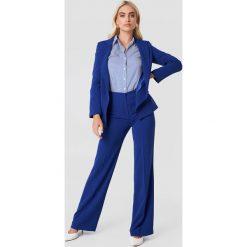 Trendyol Marynarka z kieszeniami - Blue. Niebieskie żakiety damskie Trendyol, z poliesteru. W wyprzedaży za 111.48 zł.