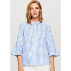 Koszula w kratę - Niebieski. Koszule damskie marki SOLOGNAC. W wyprzedaży za 49.99 zł.