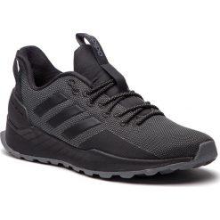 Buty adidas - Questar Trail BB7436 Cblack/Cblack/Grefiv. Czarne buty sportowe męskie Adidas, z materiału. Za 329.00 zł.