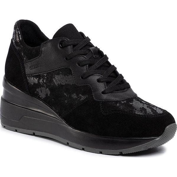 Sneakersy GEOX D Zosma C D828LC 0MA22 C9999 Black