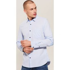 Koszula - Niebieski. Niebieskie koszule męskie House. Za 89.99 zł.