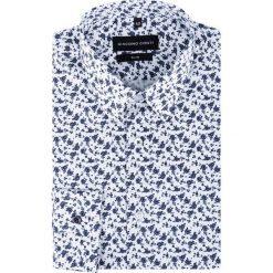 Koszula SIMONE KDWS000190. Szare koszule męskie Giacomo Conti, z materiału, z klasycznym kołnierzykiem. Za 199.00 zł.
