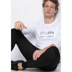 Biała Koszulka Blow Like. Bluzki z długim rękawem męskie marki Marie Zélie. Za 29.99 zł.
