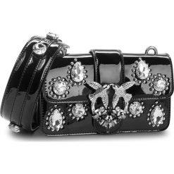 Torebka PINKO - Mini Love Excited C/Spallaccio 1P218U Y51V Nero Limousine Z99. Czarne torebki do ręki damskie Pinko, z lakierowanej skóry. Za 1,509.00 zł.