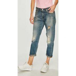 Calvin Klein Jeans - Jeansy CKJ 061. Niebieskie jeansy damskie Calvin Klein Jeans. Za 699.90 zł.
